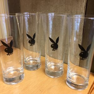 Classic PLAYBOY Glassware - Set of 4